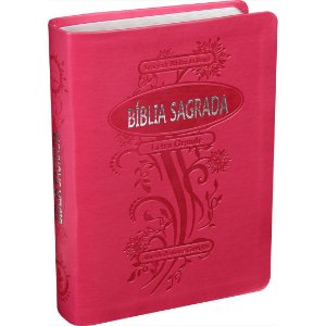 BÍBLIA RA LETRA GRANDE - PINK