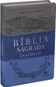 BÍBLIA RA GIGANTE TRIOTONE AZUL