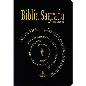 BÍBLIA NTLH LETRA GRANDE - PRETA