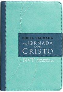 BÍBLIA NA JORNADA COM CRISTO NVT - VERDE