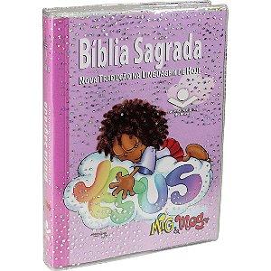 BÍBLIA MIG MEG BROCHURA ILUSTRADA FEMININA