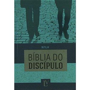 BÍBLIA DO DISCÍPULO CAPA FLEXÍVEL - VERDE