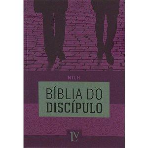 BÍBLIA DO DISCÍPULO CAPA FLEXÍVEL - ROXA