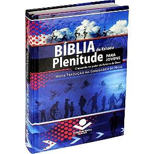 BÍBLIA DE ESTUDO PLENITUDE P/ JOVENS - CÉU