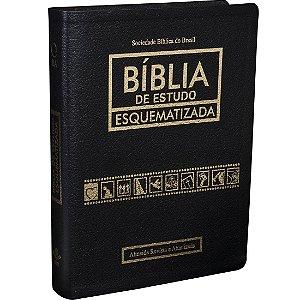 BÍBLIA DE ESTUDO ESQUEMATIZADA PRETA