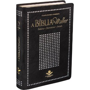 BÍBLIA DA MULHER RC PRETA NOBRE