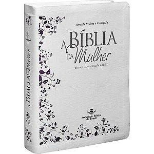 BÍBLIA DA MULHER RC GRANDE - BRANCA