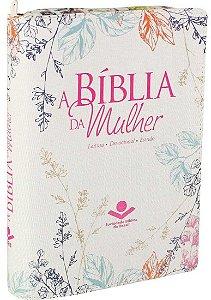 BÍBLIA DA MULHER C/ÍNDICE DIGITAL ZÍPER