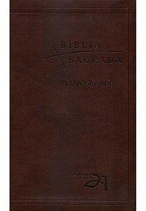 BÍBLIA A21 LETRA GRANDE LUXO - CAFÉ