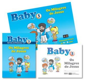 KIT BABY 5 OS MILAGRES DE JESUS