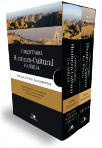 BOX COMENTÁRIO HISTÓRICO-CULTURAL DA BÍBLIA (ANTIGO TESTAMENTO E NOVO TESTAMENTO)