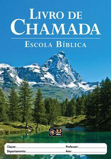 LIVRO DE CHAMADA - EBD CAPA MONTANHA