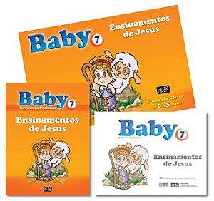 KIT BABY 7 ENSINAMENTOS DE JESUS