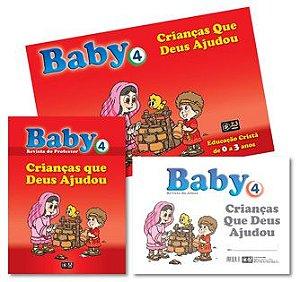KIT BABY 4 CRIANÇAS QUE DEUS AJUDOU