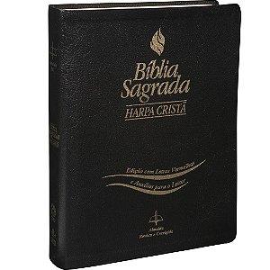 BÍBLIA RC  LETRAS VERMELHAS E AUXILIO - COM HARPA