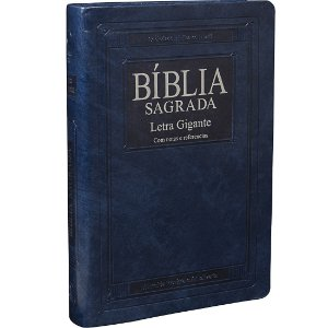 BÍBLIA RA AZUL NOBRE - LETRA GIGANTE