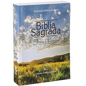 BÍBLIA RA FONTE DE BÊNÇÃOS - LETRA MAIOR
