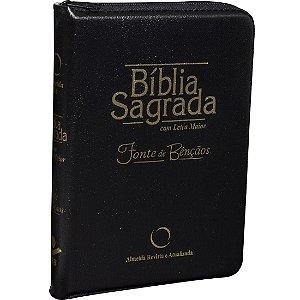 BÍBLIA RA COM ZÍPER MÉDIA