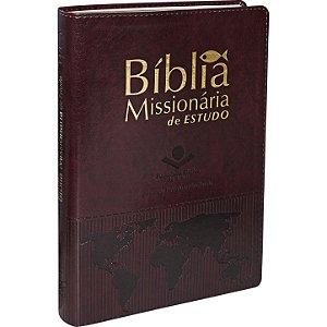 BÍBLIA MISSIONÁRIA DE ESTUDO - VINHO