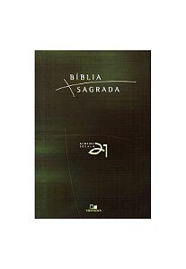 Biblia A21 brochura - verde c/ referencias cruzadas - - VIDA NOVA