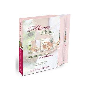 BOX MULHERES NA BÍBLIA - COLEÇÃO 3 VOLUMES