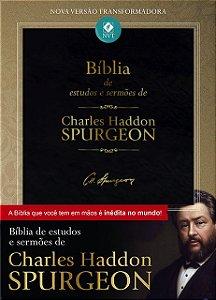 BÍBLIA DE ESTUDOS E SERMÕES DE SPURGEON
