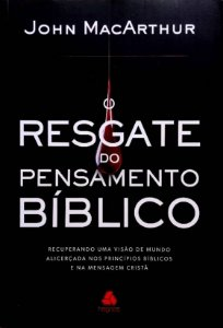 RESGATE DO PENSAMENTO BÍBLICO