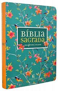 BIBLIA LEITURA PERFEITA - CAPA FLORES (LETRA GRANDE)