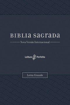 BIBLIA NVI  LETRA GRANDE - AZUL