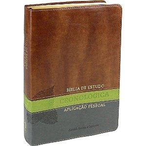 BÍBLIA DE ESTUDO CRONOLOGICA APLICAÇÃO PESSOAL LUXO