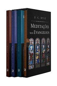 BOX  MEDITAÇÕES NOS EVANGELHOS - RYLE (CAPA DURA)