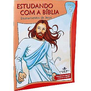 REVISTA ESTUDANDO COM A BÍBLIA - LIVRO 6 - ENSINAMENTOS DE JESUS