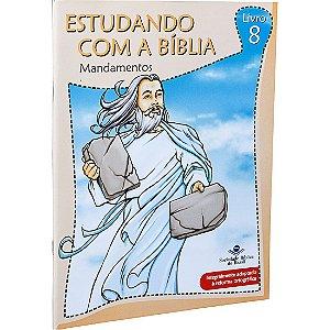 REVISTA ESTUDANDO COM A BÍBLIA - LIVRO 8 - MANDAMENTOS