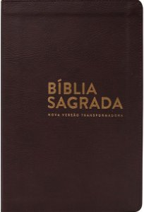 BÍBLIA NVT LUXO  - MARROM