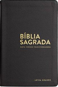 BÍBLIA NVT LUXO GRANDE - PRETO