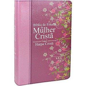 BÍBLIA DE ESTUDO DA MULHER CRISTÃ ROSA