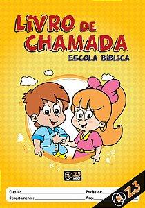 LIVRO DE CHAMADA EBD INFANTIL