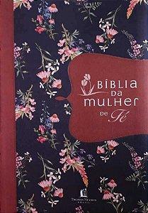 BÍBLIA DA MULHER DE FÉ - TECIDO