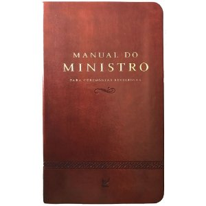 MANUAL DO MINISTRO - MARROM