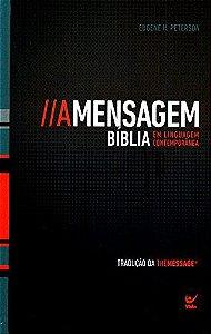 BIBLIA A MENSAGEM - CAPA DURA