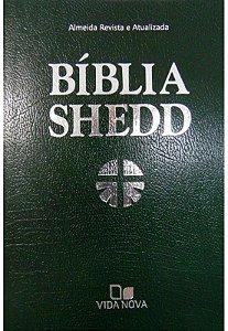 BÍBLIA SHEDD CONVERTEX VERDE