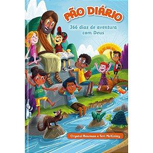 PÃO DIÁRIO 366 DIAS DE AVENTURAS COM DEUS - CAPA DURA