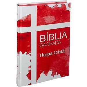 BÍBLIA COM HARPA IMPACTAR CAPA DURA - VERMELHA