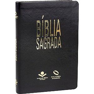 BÍBLIA NAA SLIM PRETO NOBRE