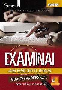 LIÇÃO EXAMINAI AS ESCRITURAS - PROFESSOR