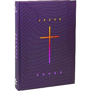BÍBLIA NAA CAPA DURA JESUS SAVE