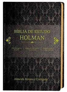 BÍBLIA ESTUDO HOLMAN PRETA