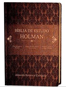 BÍBLIA ESTUDO HOLMAN MARROM