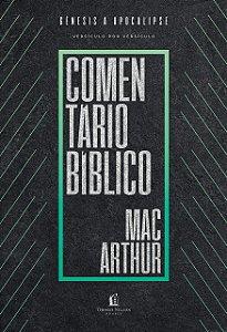 COMENTÁRIO BÍBLICO MACARTHUR