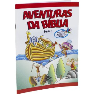 AVENTURAS DA BÍBLIA BROCHURA ILUSTRADA VOL. 1